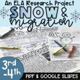 Winter - Snow & Migration Activity - Printable & Digital
