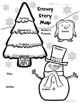 Winter Snow Story Map