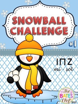 Clip It! Winter Snowball Challenge #1