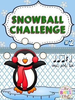 Clip It! Winter Snowball Challenge #2