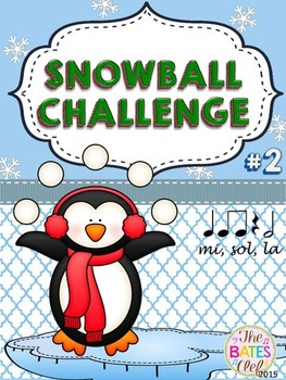Clip It! Winter Snowball Challenge #2
