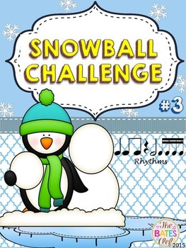 Clip It! Winter Snowball Challenge #3