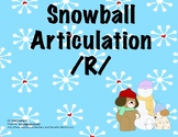 Winter Snowball Fun /r/ articulation
