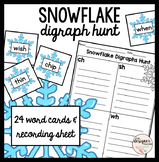 Winter Activity Snowflake Digraph Sort {CH, SH, TH, & WH}