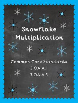 Winter Snowflake Multiplication