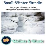 Winter Snowflake Music Bundle