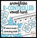 Winter Activity Snowflake R-Controlled Vowel Sort