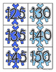 Winter Snowflake: Skip Counting by 5's - Card Sort Center and Worksheet