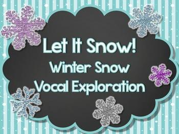 Winter Snowflake Vocal Exploration