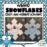 Winter Snowflakes Craft & Writing Activities