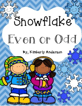 Winter Snowflakes: Even or Odd Sort
