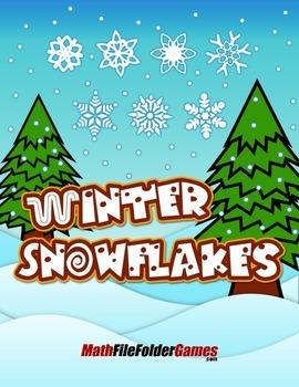 Winter Snowflakes {Geometry Activity}