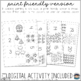 Winter Snowflakes Puzzles Self Correcting (1-20) (Counting and Numbers)