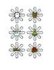Winter Snowflakes for Vocabulary or Describing FREEBIE!