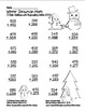 """""""Winter Snowman"""" 3 Digit Addition  Regrouping  Common Core! (black line)"""