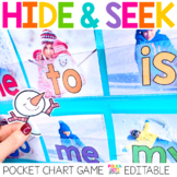 Sight Word Game | Snowman