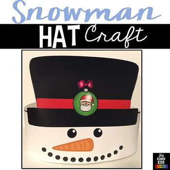 Winter Snowman Hat