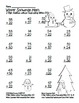 """Winter Snowman Math"" 2 Digit Addition Without Regrouping"