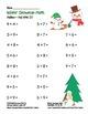 """""""Winter Snowman Math"""" Add Within 20 - Common Core - Fun! (color & black line)"""