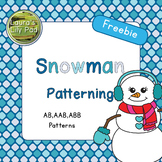 Winter Snowman Patterning