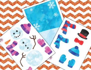 Winter Snowman Reward System for Online ESL Learning