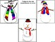 Winter Snowman Roll and Graph Using Cube Kleenex Box or Di