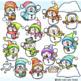 Snowman Snowball Fight Clipart Clip Art