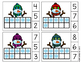 Winter Snowman Ten Frames Count and Clip Cards 1-20 (great for Math Centers)