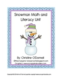Winter Snowman Unit: sight words,10 frames, teacher book+