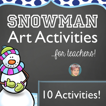 Winter Activities for January - Snowman Bundle