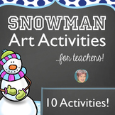Winter Activities | January Activities- Snowman Bundle
