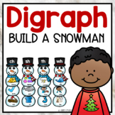 Winter Snowmen Digraph Sort Activity ch sh th wh