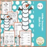 Winter Snowmen Math Fun