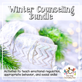 Winter Social Emotional Counseling Activity Bundle