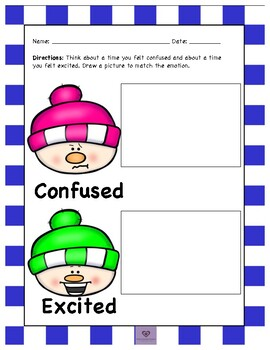 Winter Social Emotional Differentiated Activity