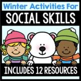 Social Skills Activities Bundle - Winter Themed
