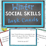 Winter Social Skills Task Cards