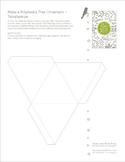 Winter Solstice Activities - Polyhedron Templates