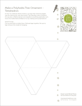 Winter Solstice Activities - Polyhedron Templates