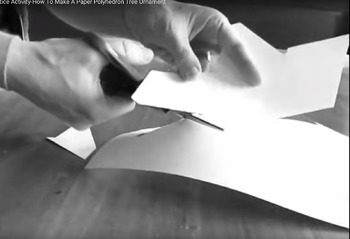 Winter Solstice Activities - Video Tutorial for making Paper Polyhedrons