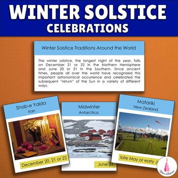 Winter Solstice Around the World Cards