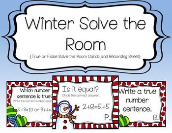 Winter Solve the Room {True or False}