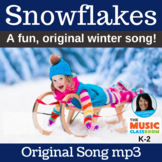 "Winter Song | ""Snowflakes"" by Lisa Gillam 