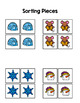 Winter Sort by Picture File Folder Game for students with Autism