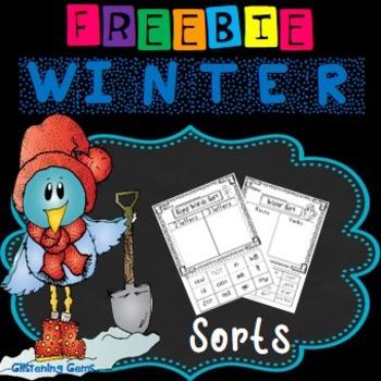 Winter Sorts {FREEBIE}