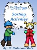 Winter Sorting Activities