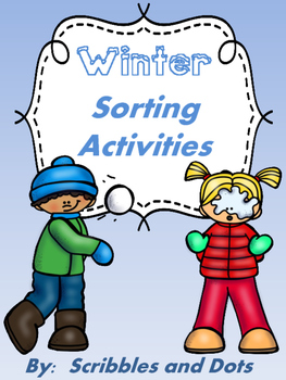 Winter Sorting Activities