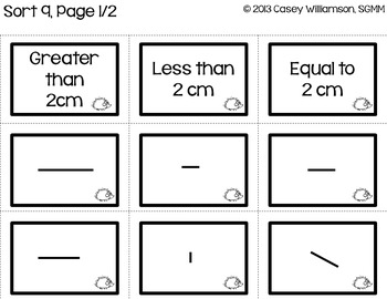 Math Sorts for Winter