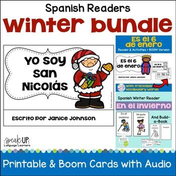 Winter Spanish Bundle {San Nicolás, Seis de enero, Invierno Build-a-Book}
