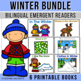 Winter Spanish Emergent Reader Pack